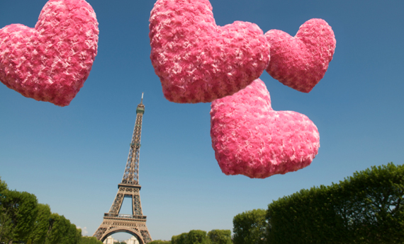Weekend romantico di San Valentino a Parigi
