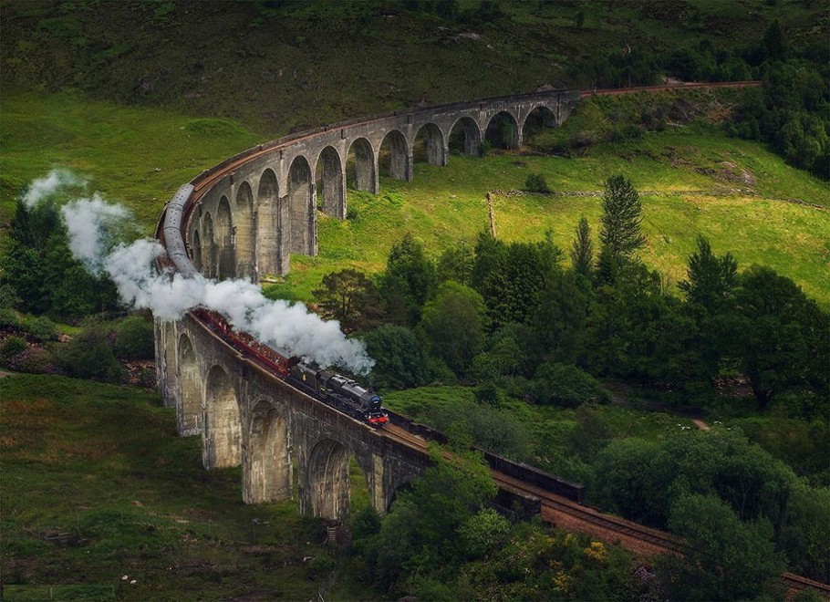 Glenfinnan-Viaduct-Scozia