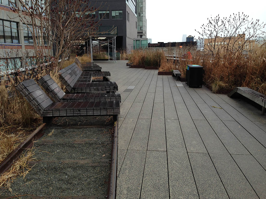 High Line Park Manhattan Sdraio