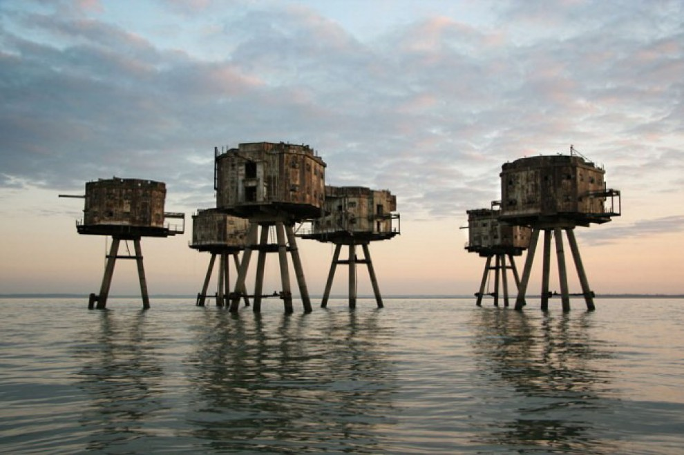 Maunsell Fort, Inghilterra