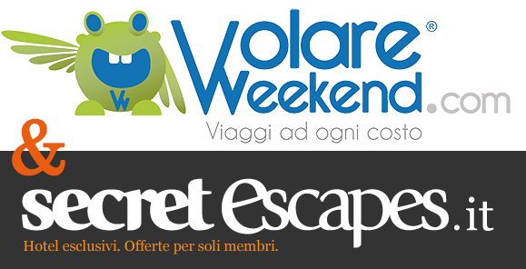 VolareWeekend e SecretEscapes lusso low cost