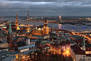 Weekend a Riga